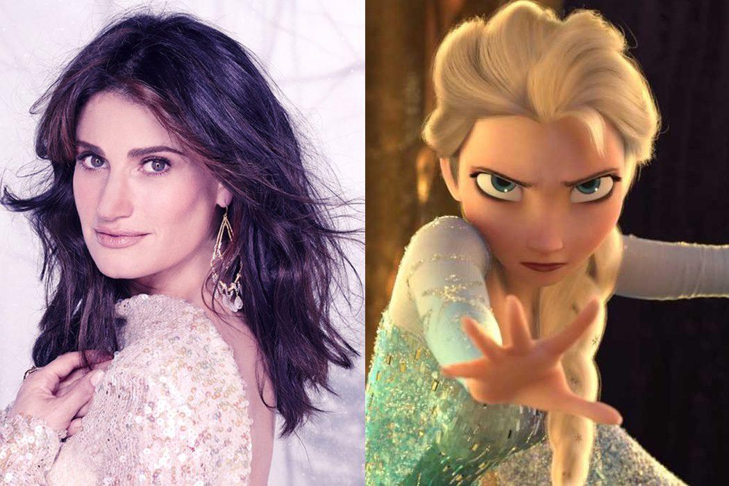 Idina Menzel es Elsa en 'Frozen: El reino del hielo'