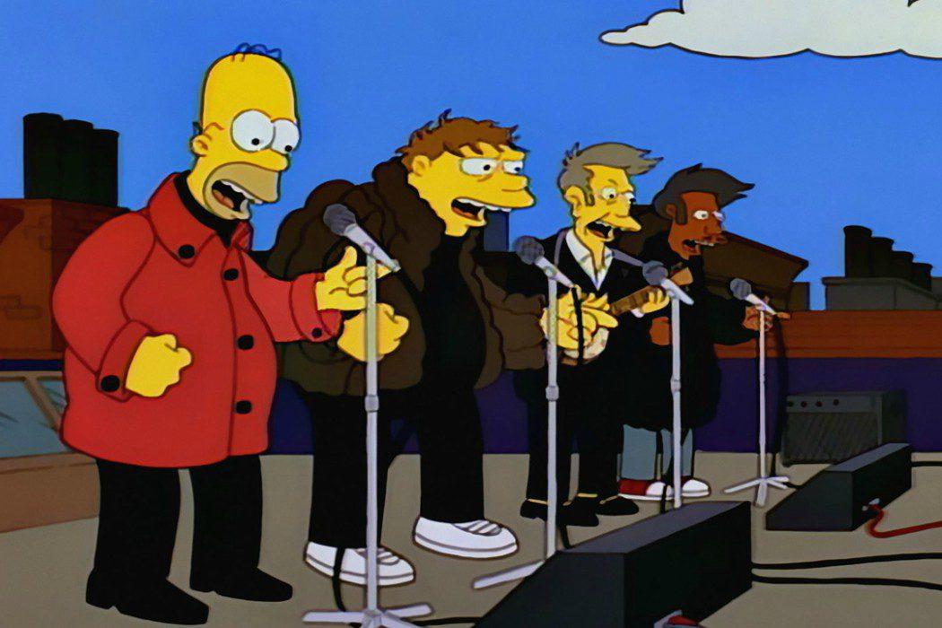 Los Solfamidas en 'Los Simpson'