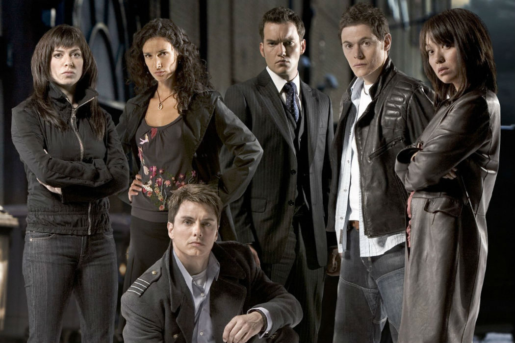 Capitán Jack Harkness ('Doctor Who', 'Torchwood')