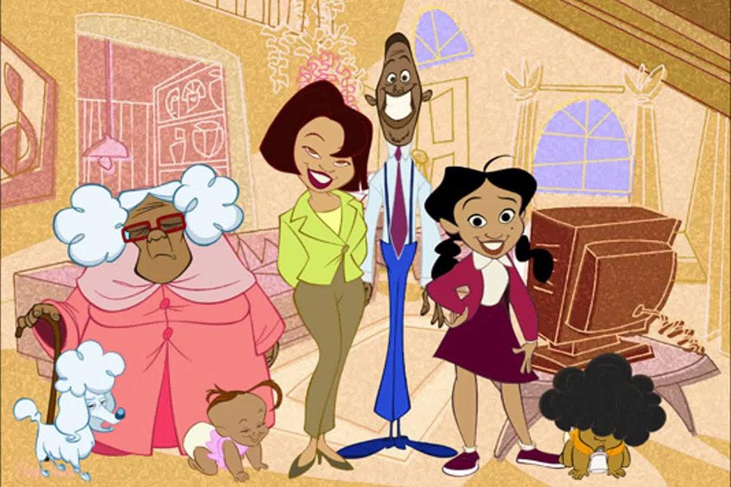 'La familia Proud' (2001 - 2005)