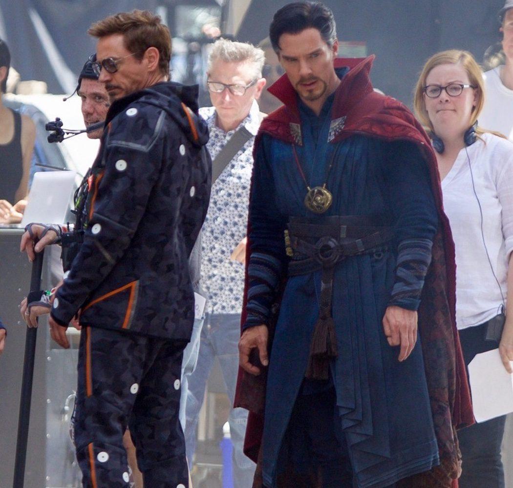 Doctor Extraño y Tony Stark