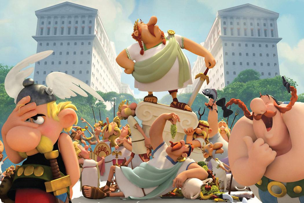 'Astérix: La residencia de los dioses' (2014)