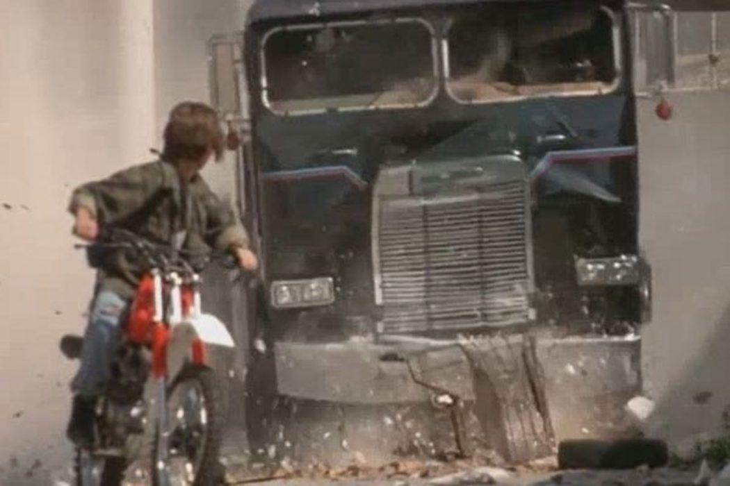 Destrozando camiones