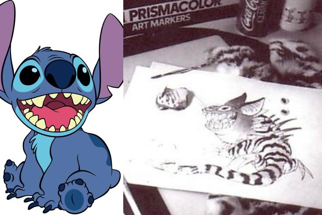 Stitch, una creación de 1985