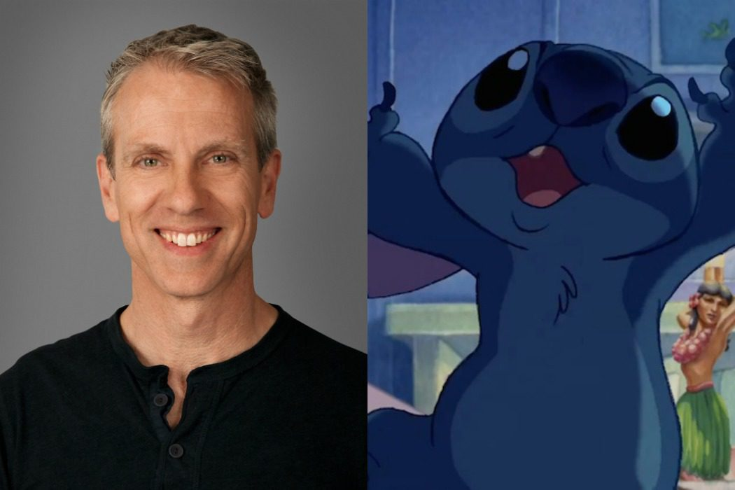 Chris Sanders dobló a Stitch