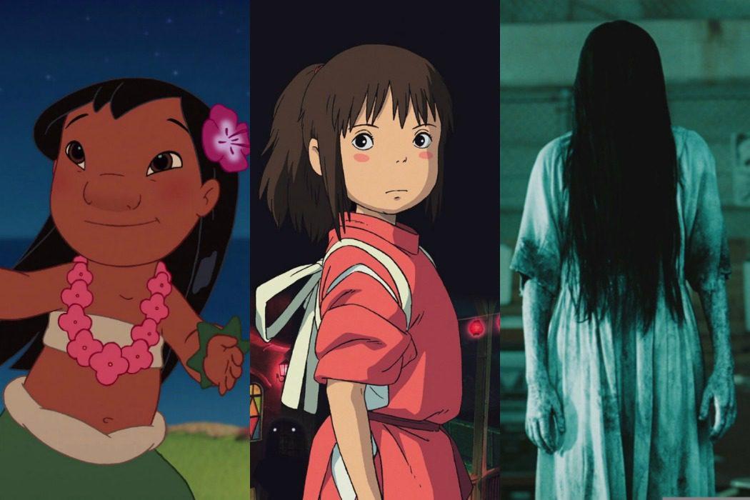 Lilo, Chihiro y Samara, unidas por la misma actriz