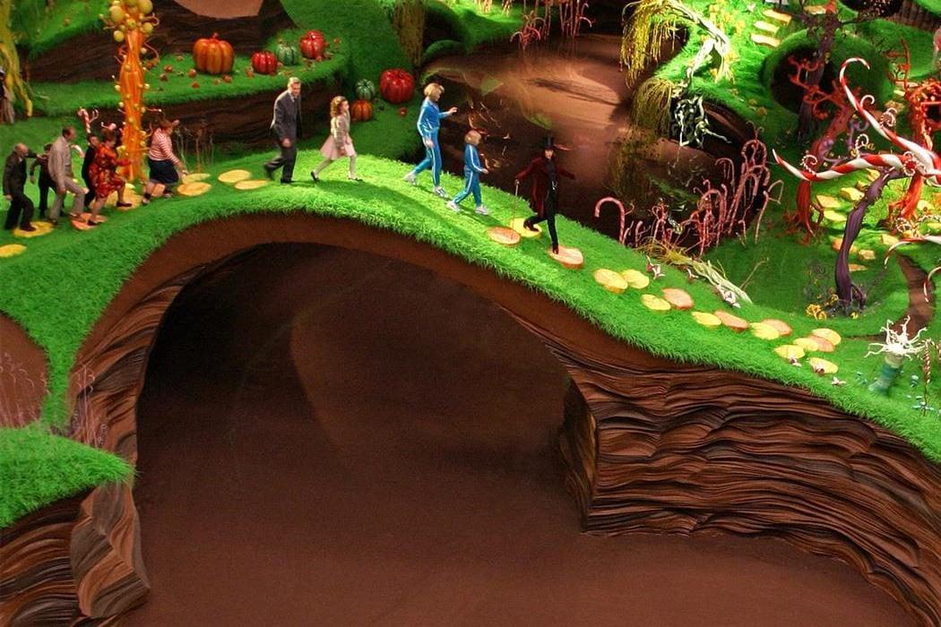 El río de chocolate