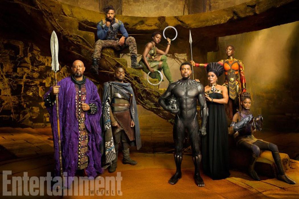 Personajes de 'Black Panther'