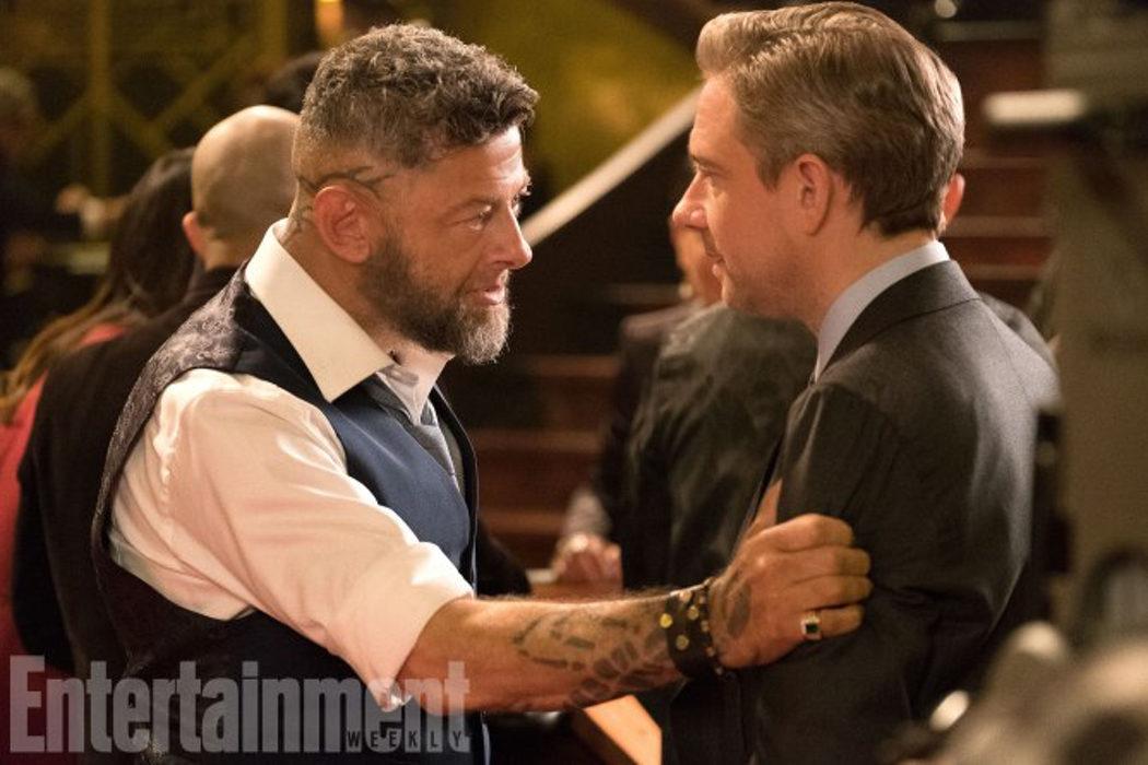 Martin Freeman y Andy Serkis (Everett y Ulysses)