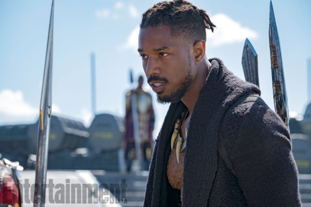 Michael B. Jordan interpreta a Erik Killmonger