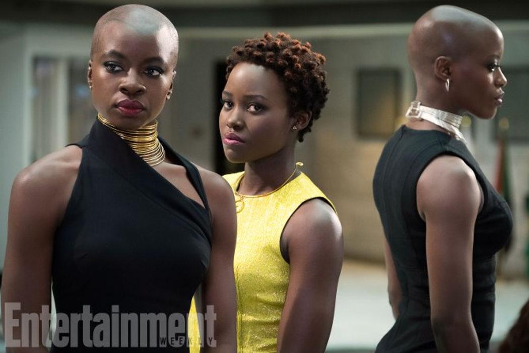 Lupita Nyong'o y Danai Gurira (Okoye y Nakia)