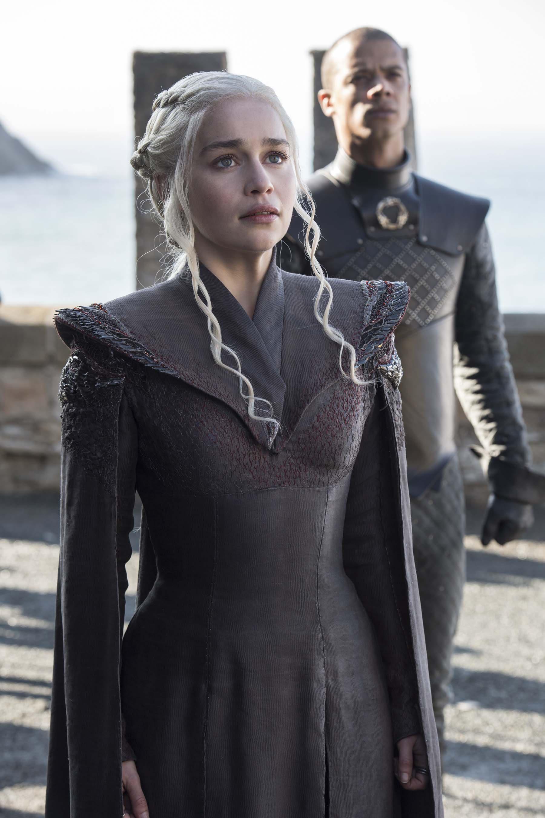 Daenerys y Gusano Gris