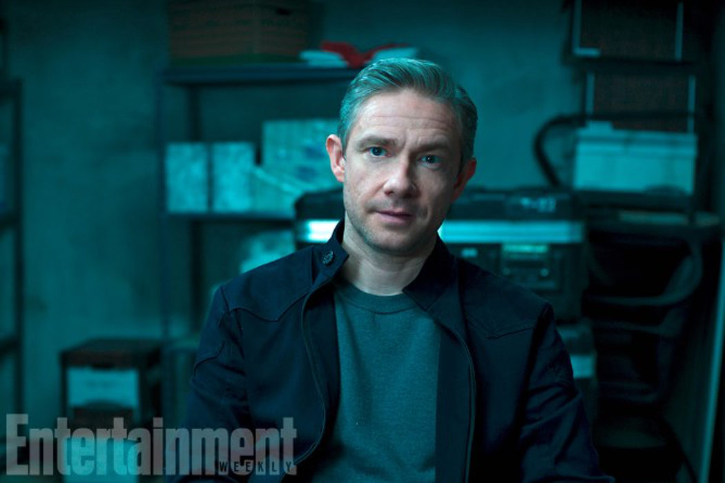 Martin Freeman como Everett K. Ross