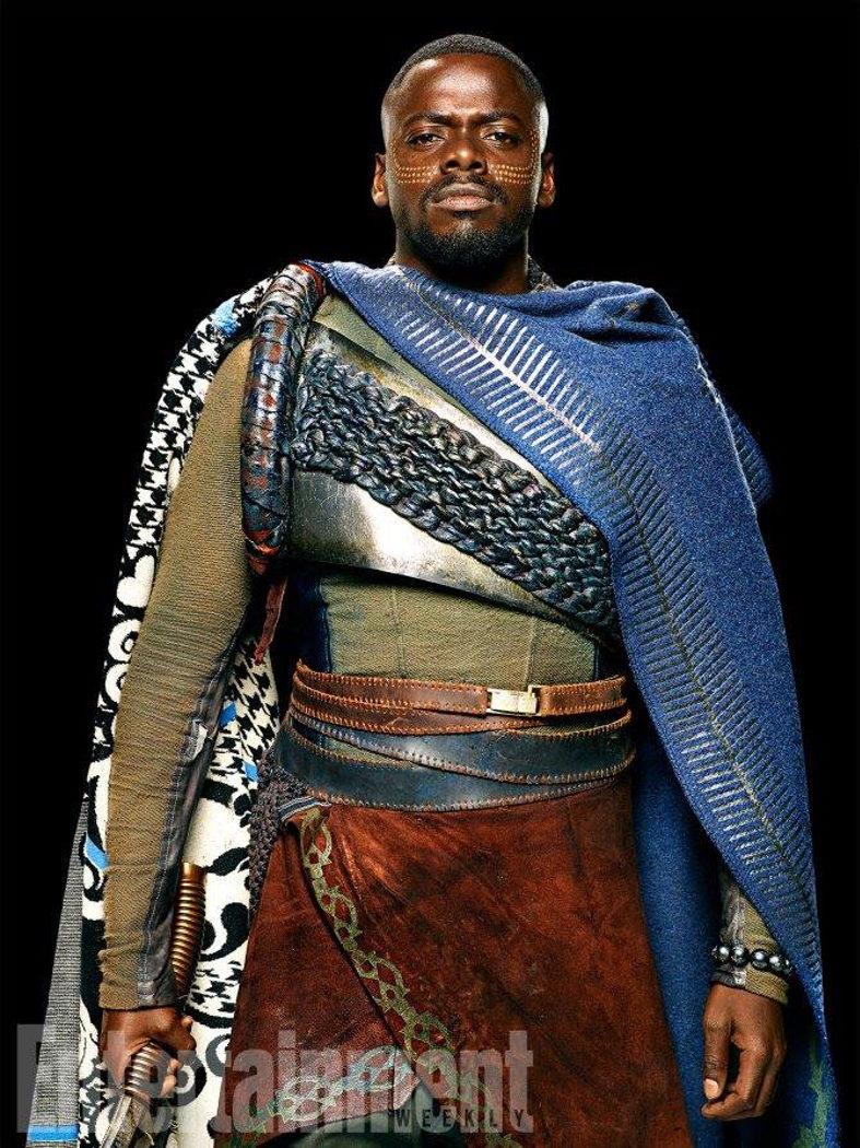 Daniel Kaluuya como W'Kabi