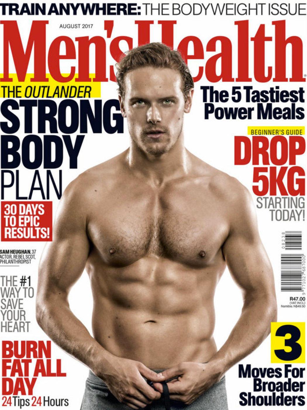 Portada Men's Health South Africa