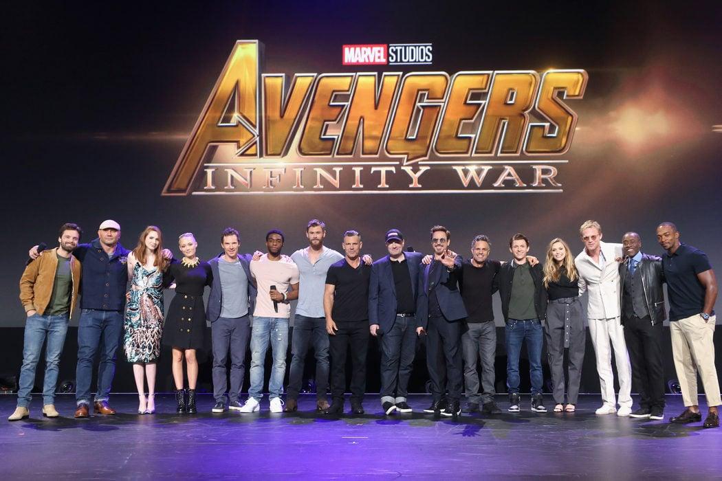 Vivimos la 'Infinity War' antes que nadie