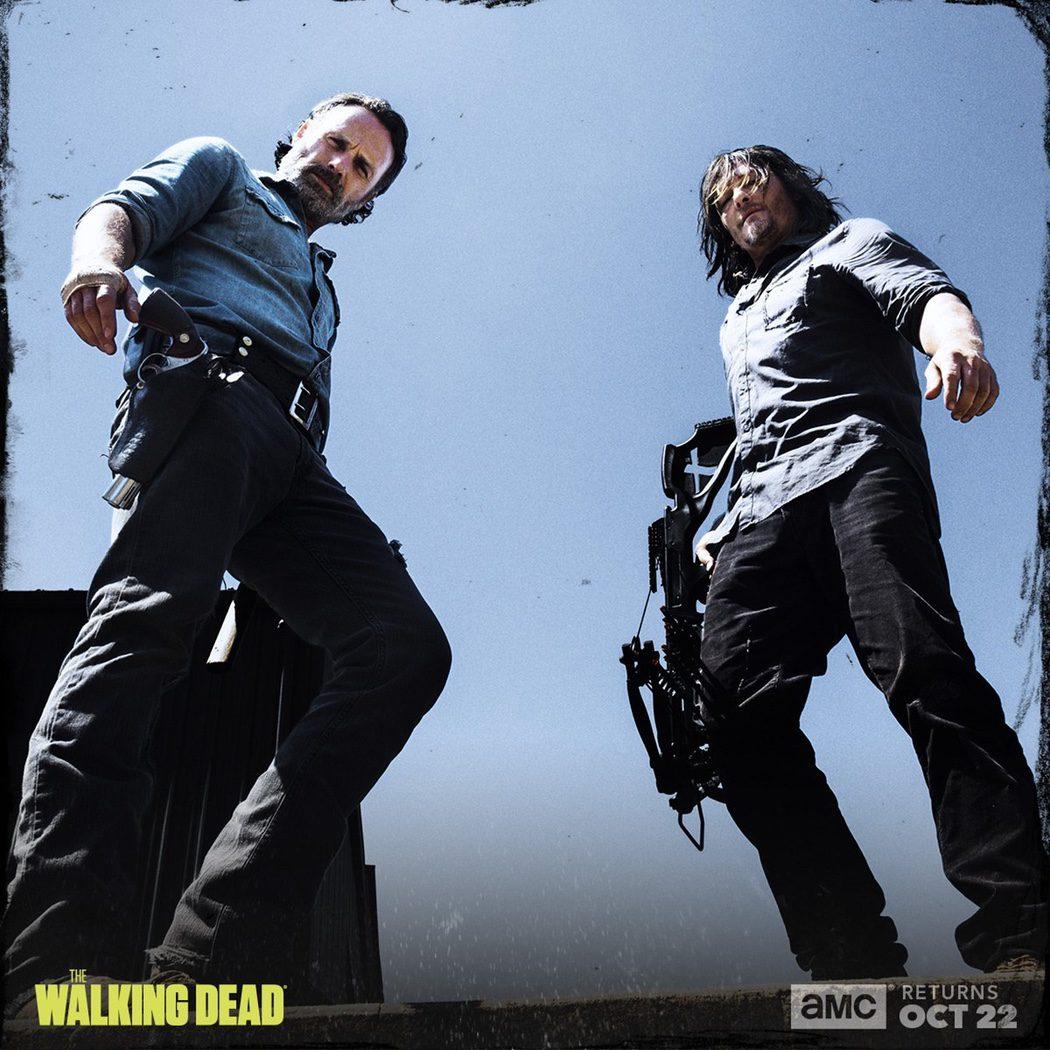 Daryl Dixon y Rick Grimes