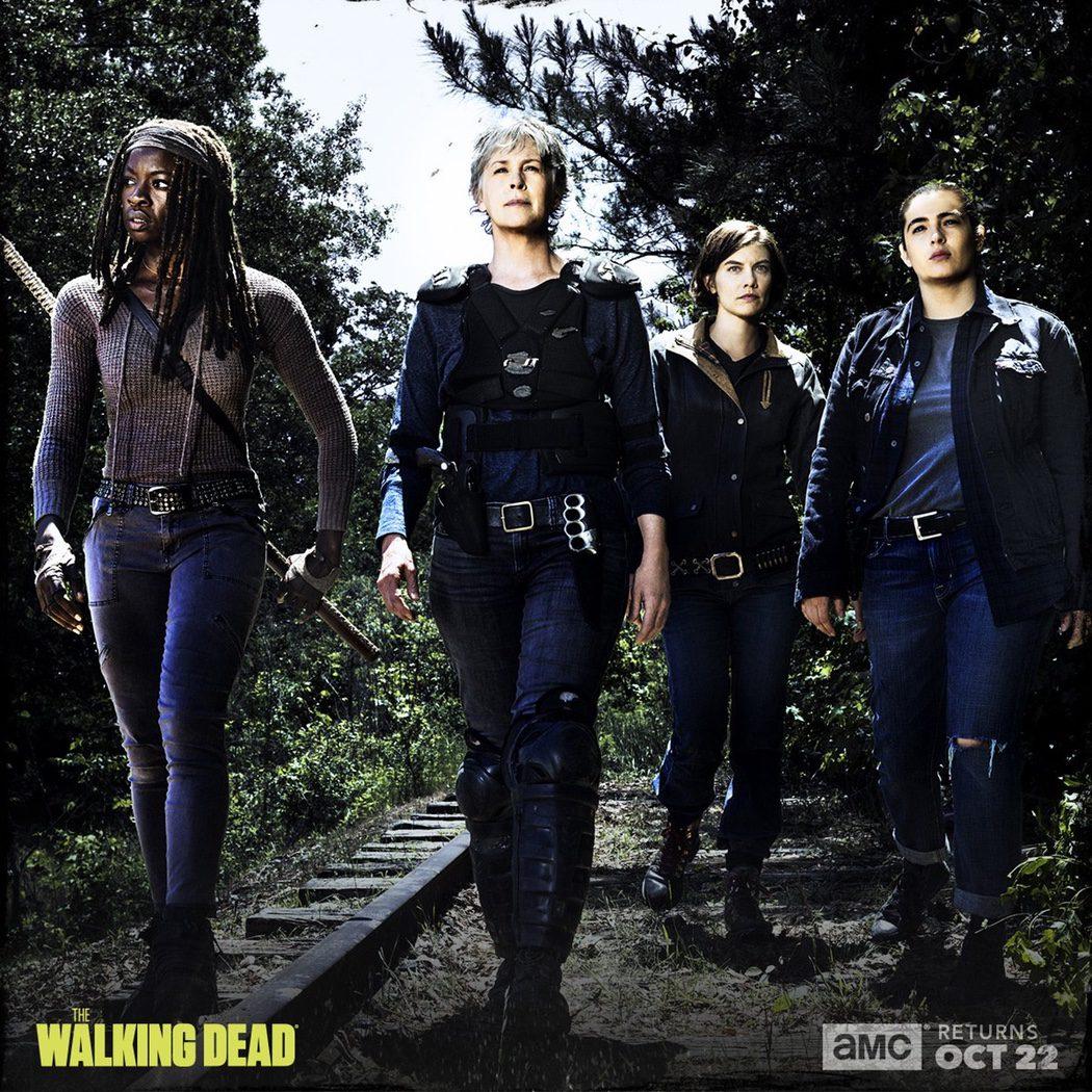 Michonne, Carol, Maggie y Tara