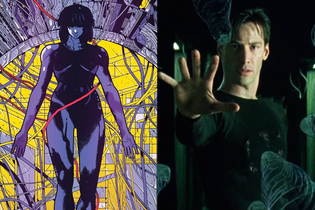 'Ghost in the Shell' vs. 'Matrix'