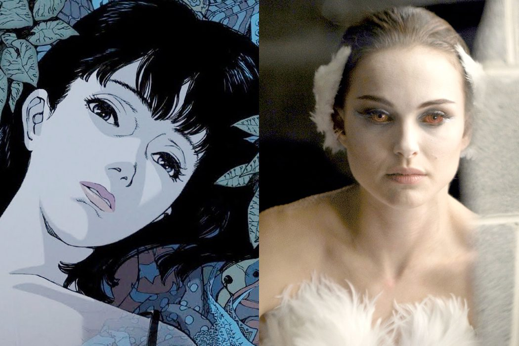 'Perfect Blue' vs. 'Cisne negro'