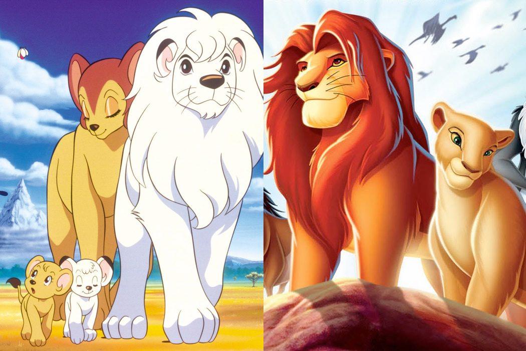 'Kimba, el león blanco' vs. 'El rey león'