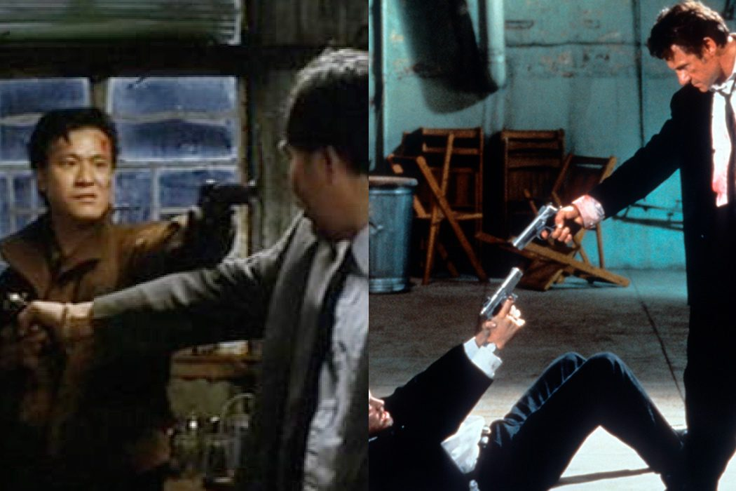 'City on Fire' vs. 'Reservoir Dogs'