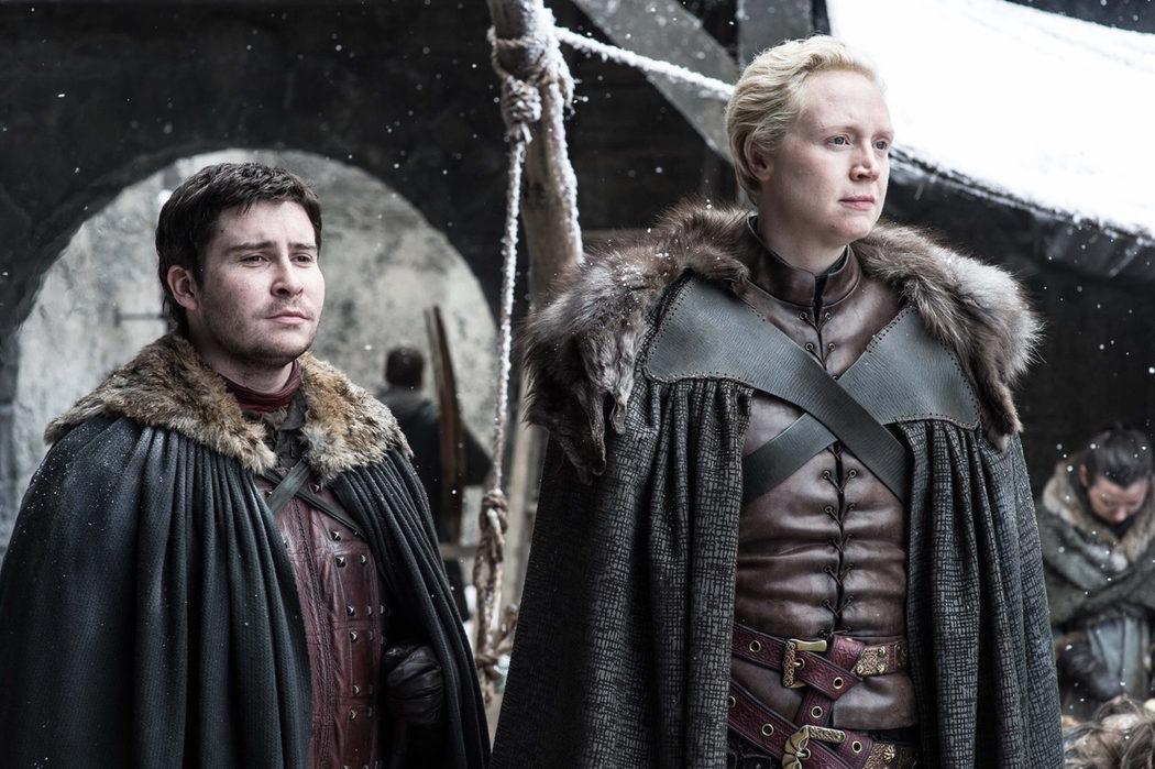 Brienne y Podrick en Invernalia