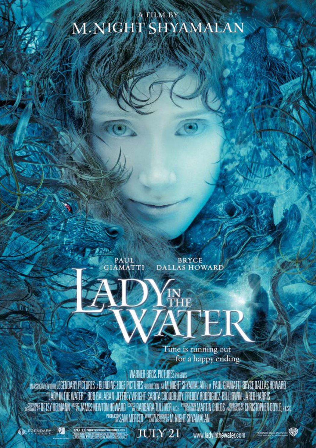 'La joven del agua'