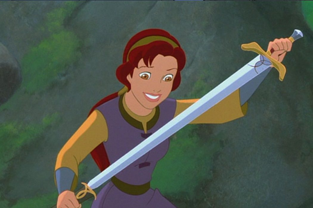 La espada mágica: En busca de Cámelot (Frederik Du Chau, 1998)
