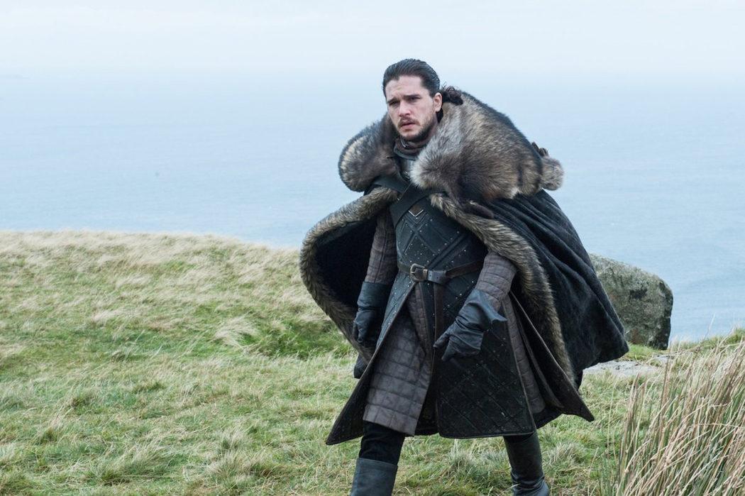 Jon Snow en Rocadragón