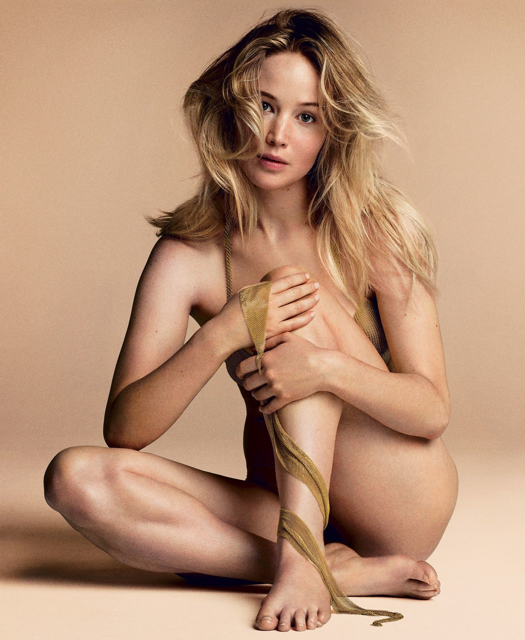 Jennifer Lawrence para Vogue