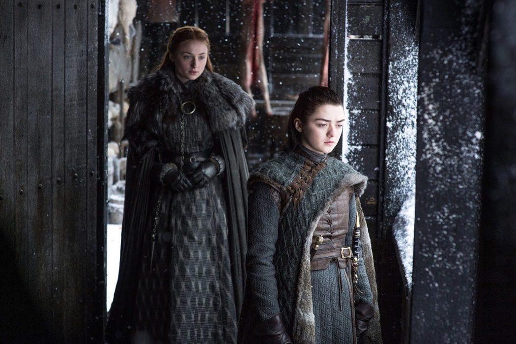 Arya y Sansa en Invernalia ya no son los personajes que conocíamos