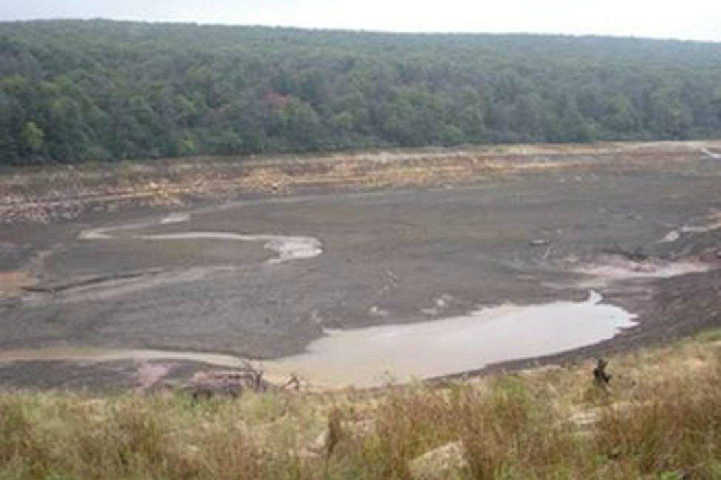 Y ahora el lago se ha secado...