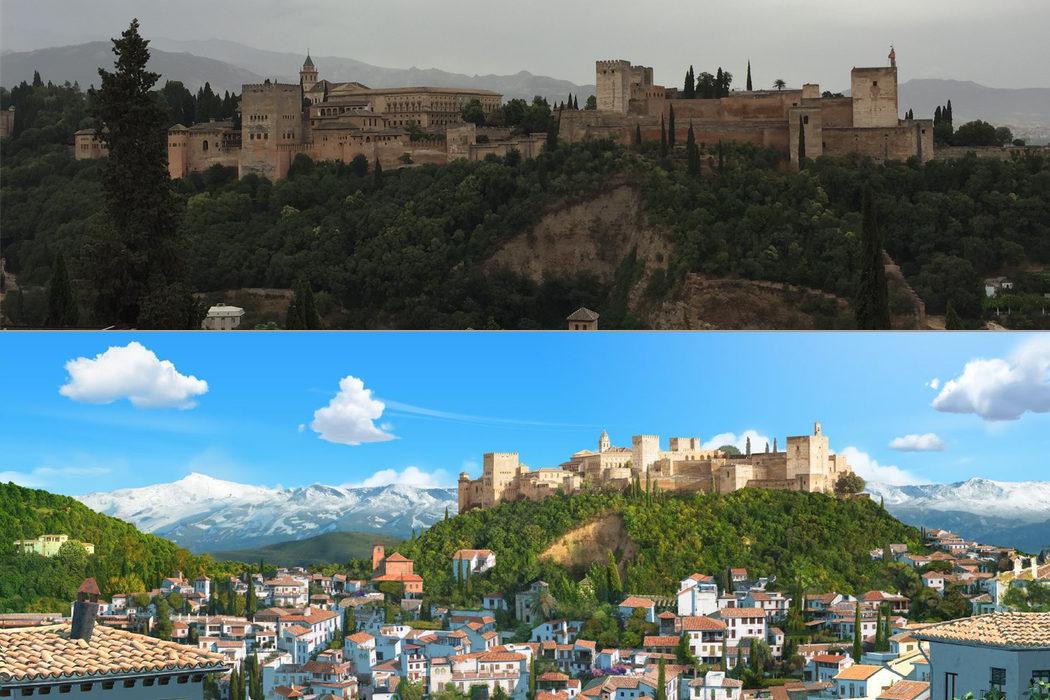 Granada, la puerta de Tadeo a España