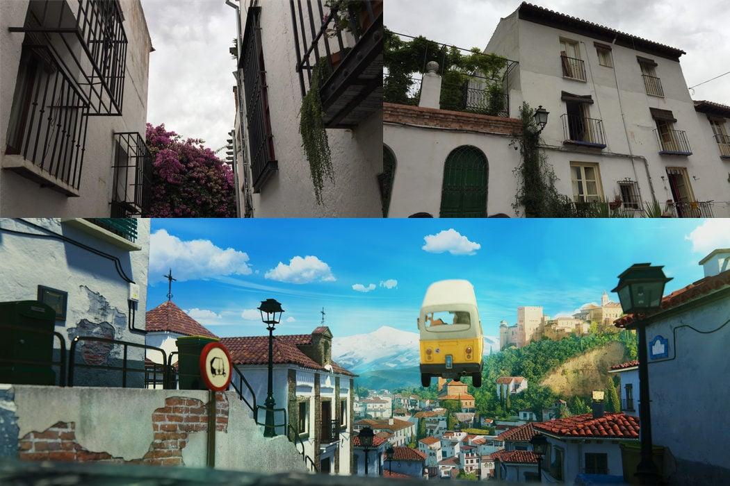 El Albaicín, San Francisco en Granada