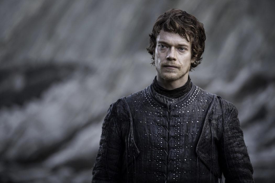 Theon sigue consternado en Rocadragón