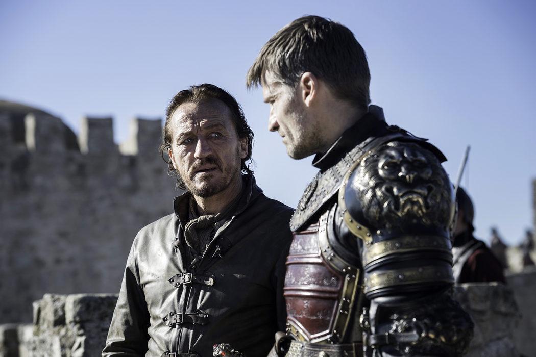 Bronn y Jaime debaten