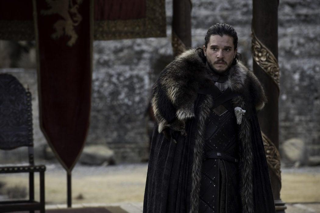Jon Snow consternado