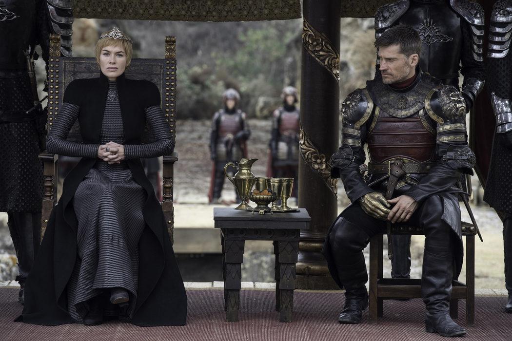 Cersei y Jaime, algo tensos