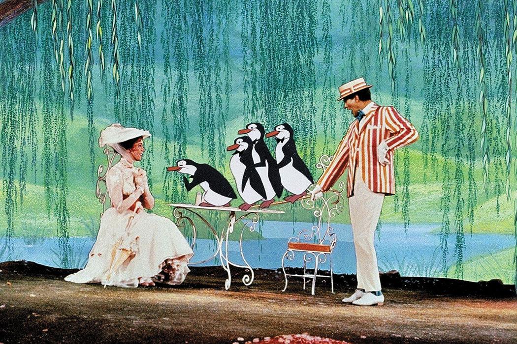 Mary Poppins y Bert, sólo amigos