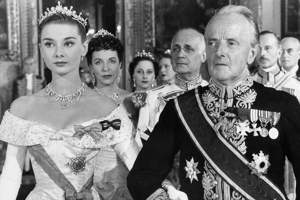 La aristocracia italiana apareció realmente en la película