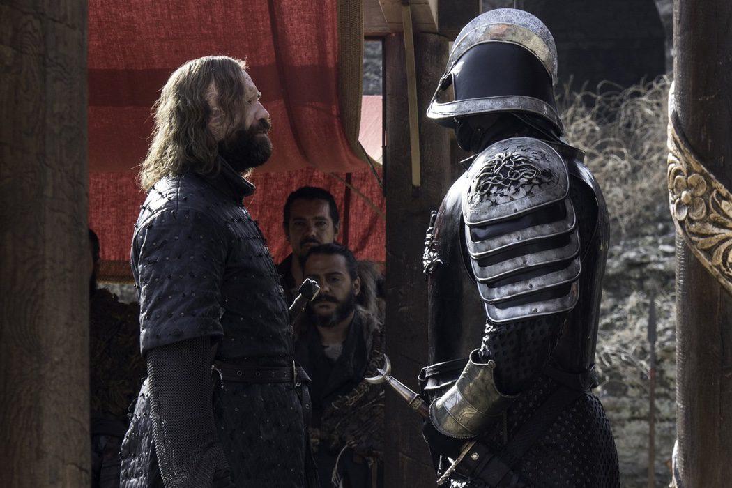 ¿Se enfrentarán los hermanos Clegane?