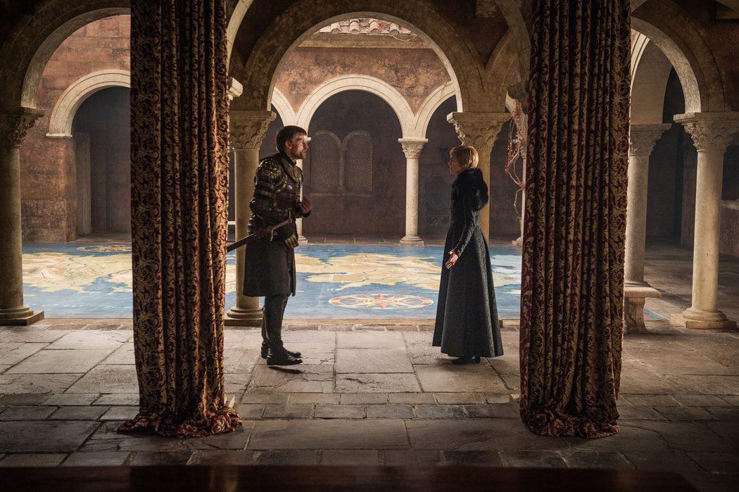 Cersei y Jaime en actitud desafiante