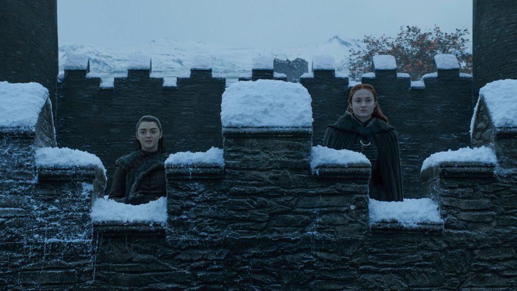 Arya y Sansa, hermanas reunidas
