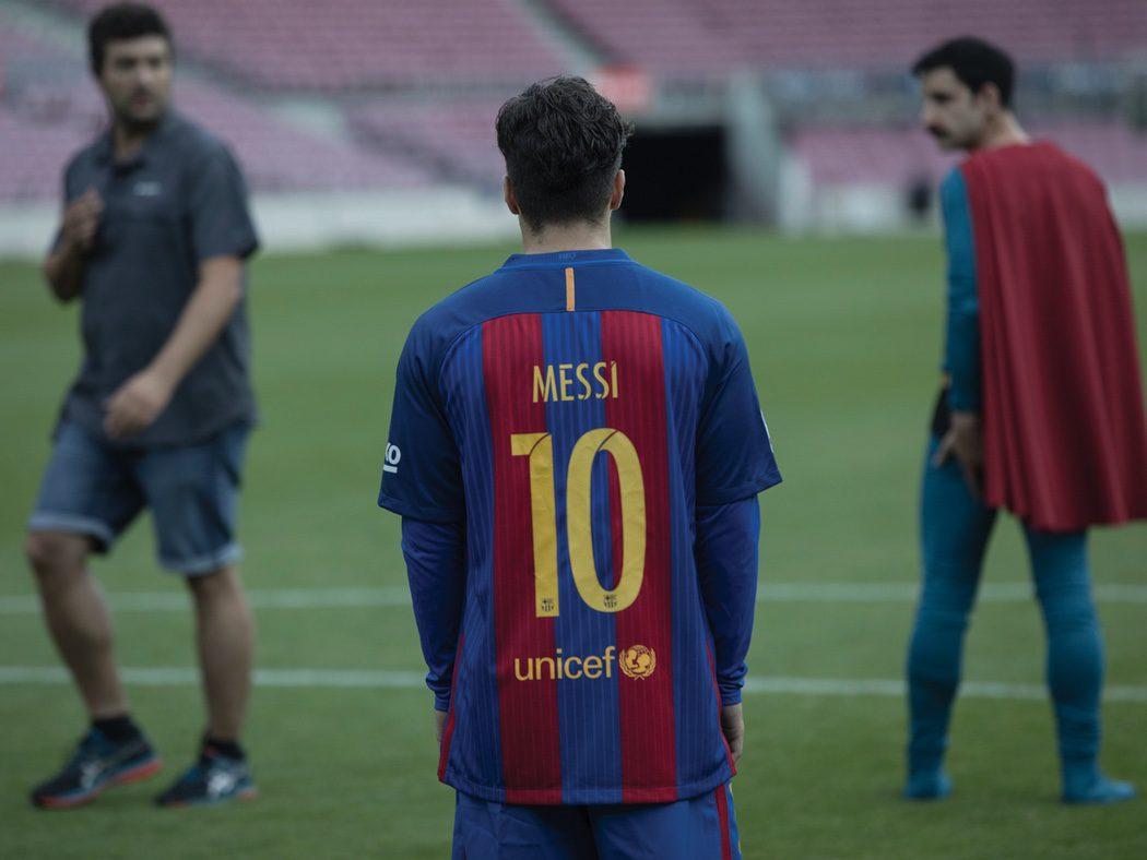 """""""Messi"""" en el Camp Nou"""