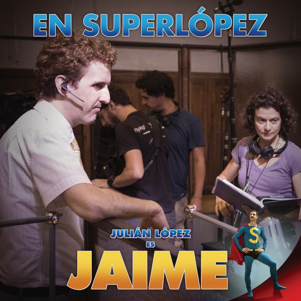 Póster oficial de Julián López como Jaime