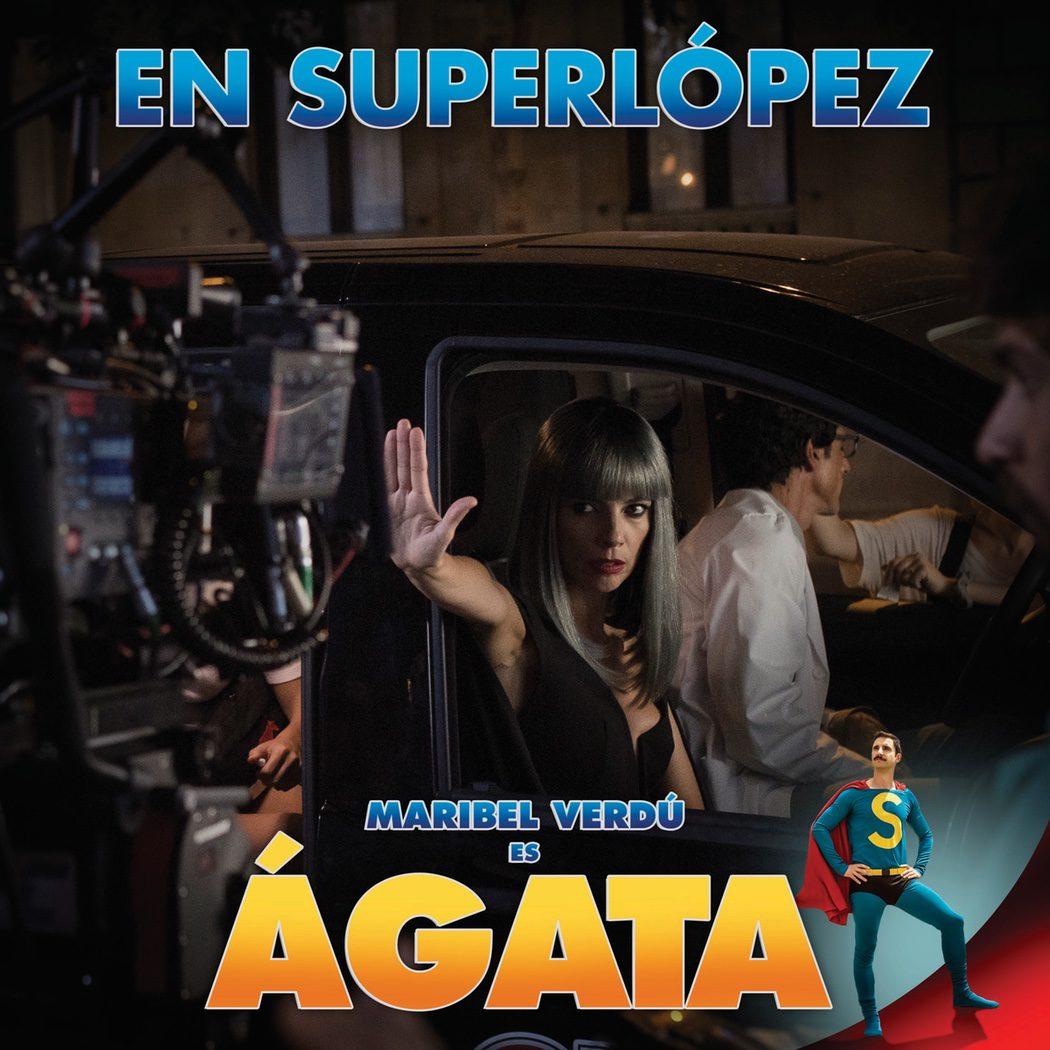 Póster oficial de Maribel Verdú como Ágata