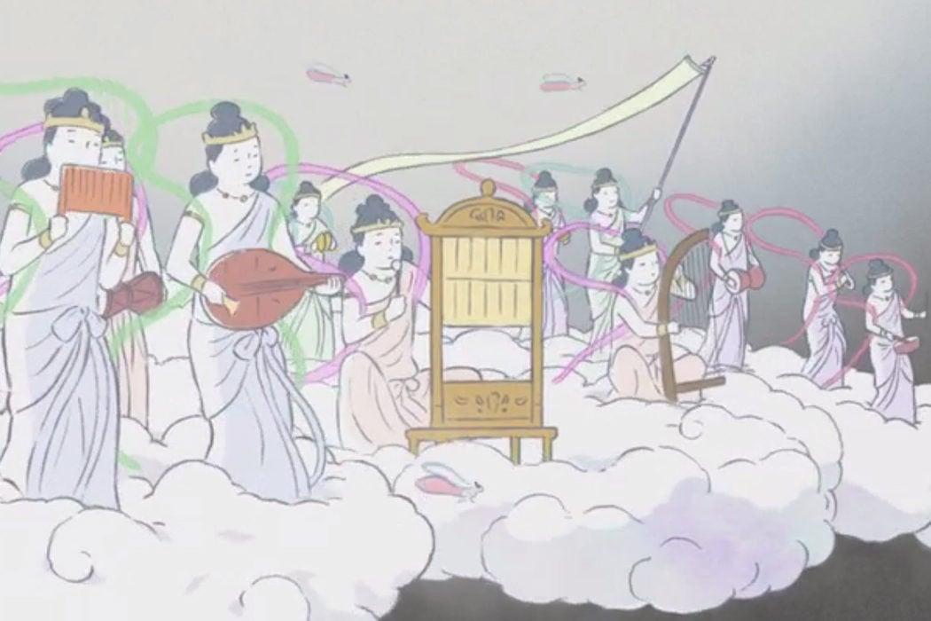 'El cuento de la princesa Kaguya' (2013)
