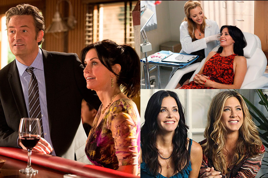 'Cougar Town' - Jennifer Aniston, Lisa Kudrow y Matthew Perry