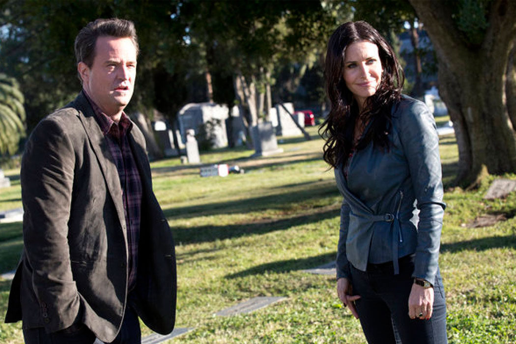'Go On' - Courteney Cox y Matthew Perry